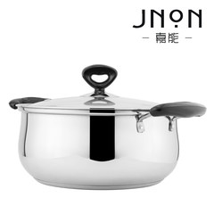 Scarlett can genuine composite bottom stainless steel pot Hot pot pot special induction cooker pot stove side pot 24CM (thickened sole)
