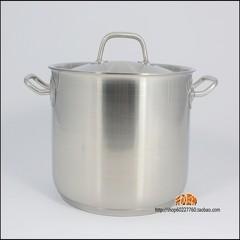 -24cm shipping Germany 304 stainless steel pot soup pot pot steamer deep non stick cooker The pot