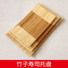 Bamboo pallets, sushi dishes, noodles, core dishes, Japanese dishes, hotel dishes Bright white [simple packaging] -340ML