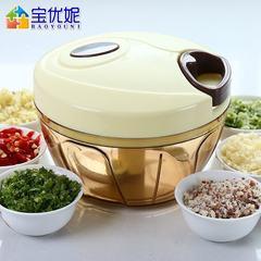 Bao Youni hand is mashed garlic garlic pounder twisted dumpling stuffing is manual meat grinder dish machine kitchen gadget DQ-9012-4 food processor