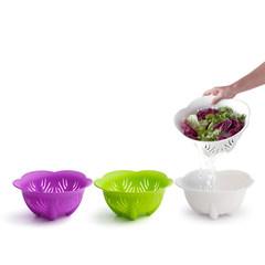 Thailand Qualy Packard series fruit basket / / filter / filter basket white