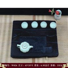 The tea tray tea table large single tray special offer ebony wood tea water