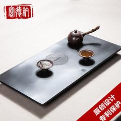 Wide black stone rock tea tea Dana stone stone tea tray tea tea Wash Cup large teapot tea table Wo Dao 68*32cm