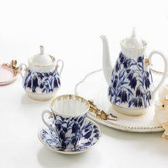 MY家 - 俄罗斯皇家瓷器Lomonosov 风信子 Bluebells 茶杯碟 茶壶 茶壶