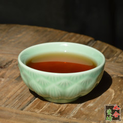Longquan celadon lotus cup small cup cup time pattern of Kung Fu Green Tea Pu'er Tieguanyin tea cup Celadon lotus cup