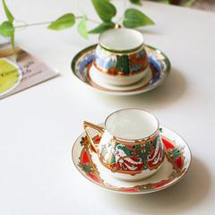 MY家 - 俄罗斯皇家瓷器 Lomonosov Bilibina系列 故事小鸟 茶杯碟 故事小鸟 一杯一碟