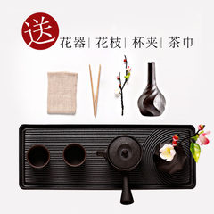 Xifeng in Japanese tea set ceramic Karesansui tea table Quik cup dry foam disc set of Kung Fu Tea 7 A sets
