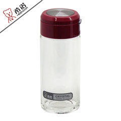 The new package post Heenoor single crystal glass Pacino thickened gift cup with a lifting rope XN-6010 XN-6010 400ml purple