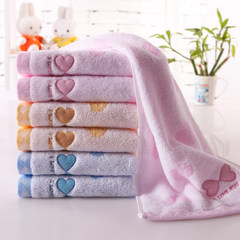 Kingshore towel three pack adult household cotton washrag spongy lovers Gucci group purchase S1274TH brown, 2 purple, 1 72x34cm