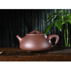 Three Gutang handmade teapot Yixing Guogong Qing young ore trough 230CC teapot Jingzhou stone scoop