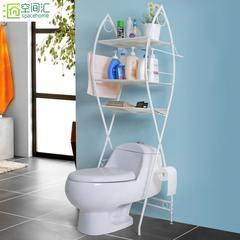 Floor rack, toilet rack, toilet shelf, home bathroom shelf, washing machine, sorting rack, storage rack Classic three story toilet rack