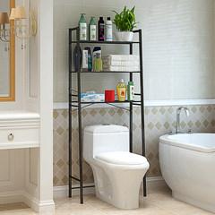 Fashionable toilet shelf, bathroom storage rack, toilet rack, floor toilet shelf, storage rack C02H-K white