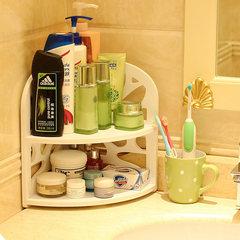 Washing table, cosmetics, bathroom, bathroom, table, triangle shelf, angle rack, goods rack -1