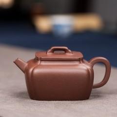 Yixing Zisha teapot where Weifeng gaotu Tang Wenquan handmade incense pot containing old purple clay ore