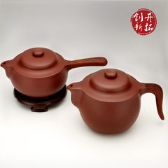 Wang Hui, a master of purple sand pots in Yixing, designed and supervised Yin Huijuan's branches