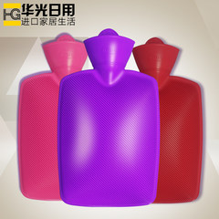 Germany imported household water hot water bag filling large thickened explosion-proof plumbing bag PVC hand warmer easy cleaning Sapphire blue
