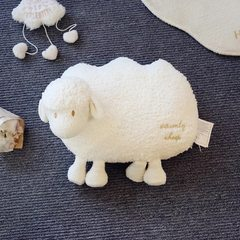 16 new super small sheep, big water heater, soft water heater, cute hot-water bag white