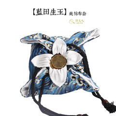 Jin [Mrs.] shangpozi cotton cloth cover children born of worthy parents yubaba bag Chinese Tang Pozi [20cm] children born of worthy parents
