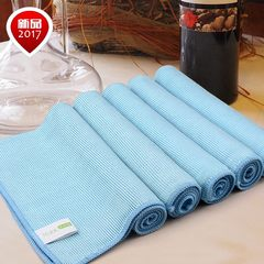 Exporting superior products, cleaning glassware for special use, no wool, no watermark, cleaning cloth, mirror cloth, dust cleaning cup, tableware 5 pieces of glass towel