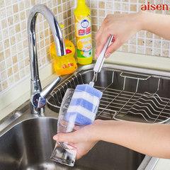 Japanese AISEN cup brush brush, lengthened telescopic handle, sponge 100 cloth, glass brush, kettle brush