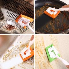 Japan NISHIKI kitchen decontamination brush, brush lampblack machine, stove cleaning brush handle, kitchen brush