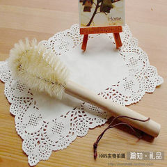 Nordic log hard brush does not hurt the hand, high-grade washing cup brush, bottle brush, multifunctional thermos cup brush cleaning tool