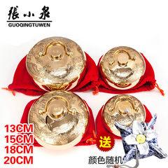 Hangzhou new Zhang shangpozi Tang Wuzi pure brass dragon thick hot water bag hand warmer feet warm bed New 18cm thick 1.2mm