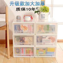 Combination drawer type storing cabinet, transparent clothes arranging cabinet, plastic locker storage box, and superimposed shoe box storage box Green Jiangsu, Zhejiang and Shanghai