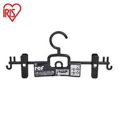 IRIS IRIS plastic multi purpose clothes hanger, clothes hanger, clothes hanger SHN-DX1 1 black