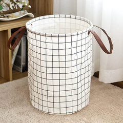 One product life of shipping ins dirty clothes barrel instoragebarrels cotton quilt instoragebarrels toy storage capacity 35*45cm Black squares (long ears)