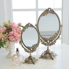 South Korea imports retro mirror, retro European mirror, copper mirror trumpet