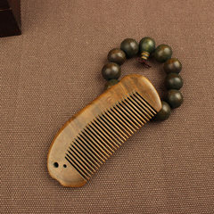 Shipping anti-static comb comb comb fish Green Sandalwood sandalwood creative personality birthday gift gift T8-1