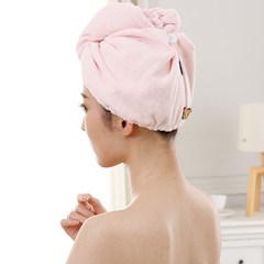 A Japanese dry hair cap absorbent soft microfiber towel wipe hair dry towel cap pregnant rate violet