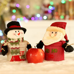 Christmas Candy Box, apple box, children's gift box, Santa Claus, snowman, deer dressing party arrangement supplies Classic deer candy box