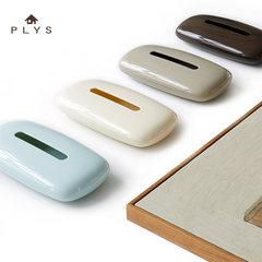 Japanese brand PLYS resin toilet paper towel box, Japanese style cobblestone paper box, towel box storage box Sakura 591316