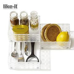 Japan imported luxury kitchen products storage box free combination magic storage box KTC9003