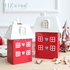 The living room cabinet accessories Home Furnishing ceramic decoration decoration crafts creative wedding gifts housewarming celebration Fu trumpet