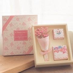 A new custom candy boxes Mantianxing Gift Bouquet with European high-grade creative wedding Diameter 4.5cm high 4cm Golden wave