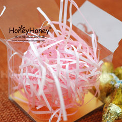 [Z] pink purple silk paper HoneyHoney candy boxes filled 100 boxes can be placed around 1 bags can be placed around the 80-100 box Pink 110 grams PYZS-P