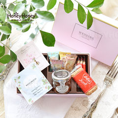 New classical wedding gift boxes of food containing large candy boxes exquisite HoneyHoney wedding custom Goods in stock Increase the smoke tea Potter version of QC069