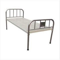Stainless steel bedside flat bed, parallel bed, common flat bed, hospital clinic bed