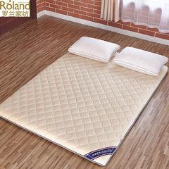 Rowland textile slow rebound memory foam mattress folding bed sheet double warm thick sponge mattress Camel 1.35*2m (4.5 foot) bed