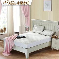 Mercury textile 1.5m tatami mats of 1.8m bamboo fiber knitted mattress pad anti-skid breathable 1.2 meters white 120× 200cm