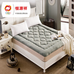 Hengyuanxiang cashmere mattress mattress pad thickening. Tatami dormitory double 1.5m Claret 180cm*200cm