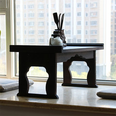 Japanese folding table table table burn Paulownia Piaochuang platform table table table Ancient Chinese Literature Search tatami bed table Naked wedding age Ready