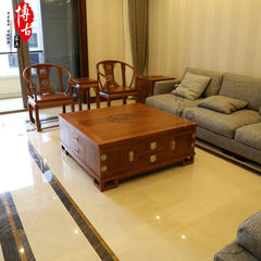 The new Chinese wooden hedgehog red sandalwood furniture new Chinese rosewood table table Su pear KYOCERA custom furniture Ready Red sandalwood (Gambia)