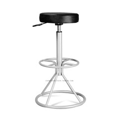 Simple fashion, personality creativity, post modern high lift bar chair stool chair Bright chrome plating