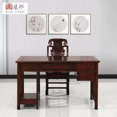 Dongyang zhanbang Indonesia Blackwood rosewood Dalbergia latifolia computer desk classical Chinese rosewood furniture Computer desk and chair