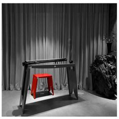 View original Fujian new stool stool stool seat Shi Huang