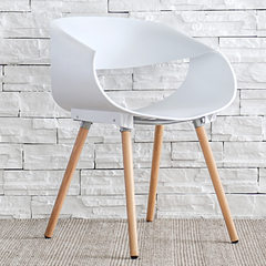 Nordic Chair Color dessert plastic chair modern minimalist fashion leisure chair chair seats with creative white